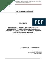 Estudio Hidrologico Nuevo Laredo Jun-15