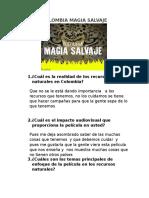 Colombia Magia Salvaje Carlitos