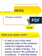 English - Action Verbs