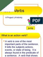 English - Action Verbs