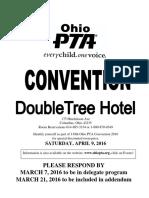 Vendor Application 2016 Ohio PTA Convention