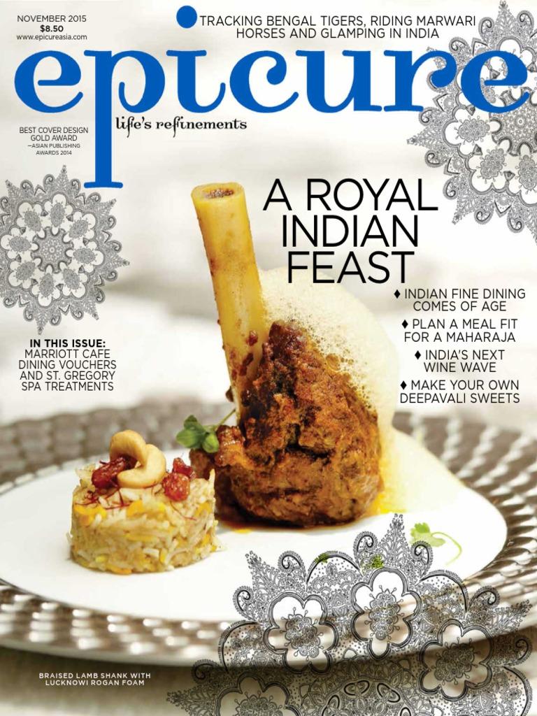 Epicure november 2015pdf curry indian cuisine forumfinder Images