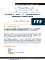 Expertshub_Internet of Things Internship_IoT Summer 2016