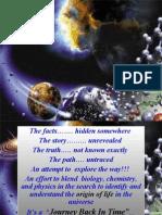 English - Origin of Life in Universe