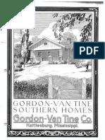 Gordon Van Tine Southern Homes