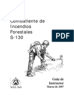 Combatiente de Incendios Forestales Manual Instructor