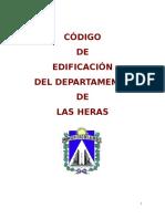 Código de Edificacion y Urbano Las Heras