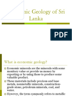 Economic Geology of Sri Lanka