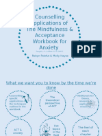 the mindfulness   acceptance workbook for anxiety - robyn polsfut   molly hayes