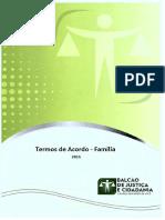 Procedimentos - Termos de Acordo - Família 2015