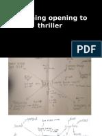 Planning of thriller