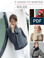Your Knit Guide to Winter 11 Easy Knitting Patterns From Bergere de France