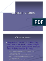 English - Modal Verbs II