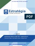 Estratégia - ANAC 2016 - Administração Pública - Aula 00