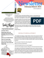 february-march 2016 class newsletter
