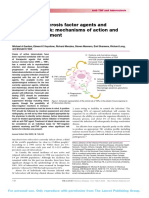 Anti-tumour Necrosis Factor Agents And
