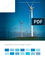 WEG Solucoes Para Energia Eolica 50036044 Catalogo Portugues Br