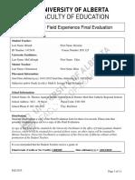 ifx 325 final evaluation