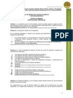 Ley de Bienes Del Estado de Mexico y Sus Municipios