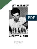 Kasparov - A Photo Album