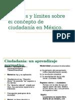 Debates y Limites Sobre El Concepto de Ciudadania