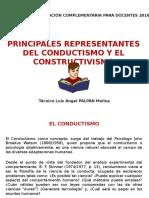 Actividad 4.1 Conductismo - Constructivismo