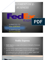 Fad Ex Power Point Presentation
