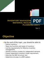Production Control & Planning (Part 2)
