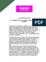 47-PORQUE SOLO LA MENTE SANA NOS PUEDE SALVAR?