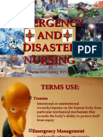 EMERGENCY AND DISASTER NURSING