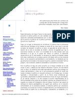 Echeverria_Chiapas 3 - Lo Político y La Política
