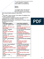 Direct and Indirect Speech [Discurso Direto e Indireto]