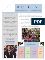 newsletter pdf for project