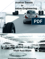 Innovative Trends in Automotive Engineering