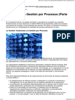 2 Gestion Por Procesos - Todo Sobre La Gestión Por Procesos (Parte I)