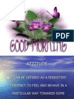 8 Attitude