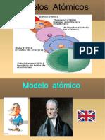 Modelos Atómicos Presentación de Objetivo 1