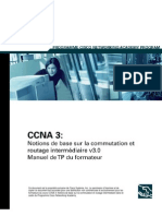 LARIS CCNA 3 Notion De Base Sur La Commutation Et Routage Intermediaire V 3 0 French Scan eBooK-Label