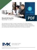 DISC-Ronald JR Zaulda