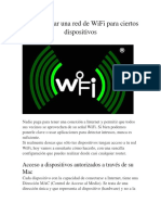 Cómo Limitar Una Red de WiFi Para Ciertos Dispositivos