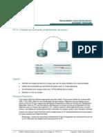 LARIS TP CCNA 2 Notions de base sur les routeurs et le routage v3.1