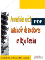 acometidas electricas en baja  tension