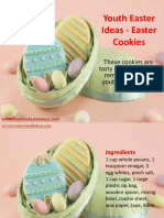 Youth Easter Ideas - Easter Cookies