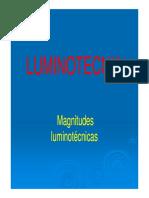 Magnitudes Luminotecnicas Nuevo