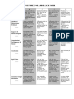 Stage 2_paper Rubric