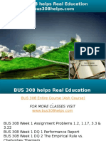 BUS 308 Helps Real Education-bus308helps.com
