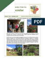 newsletter volume 11 no 3