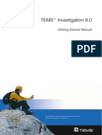 TEMS Investigation 9.0 Getting Started Manual