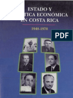 Estado y Politica Economica en CR