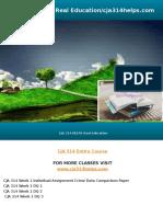 CJA 314 HELPS Real Education/cja314helps.com